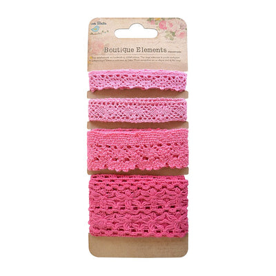 Crochet Trims - Strawberry Fields, 2mt