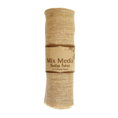Burlap Fabric- Natural, 1mt x 16 inch, 1.09 yard