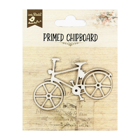 Chipboard Bicycle 1pc PBCI Little Birdie