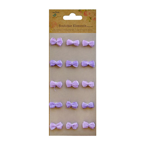 Bitty Bows Grape Crush 15pcs