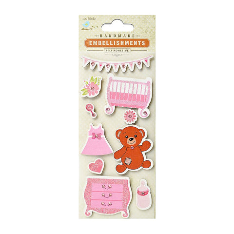 Cradle And Drawer Pink 10pcs