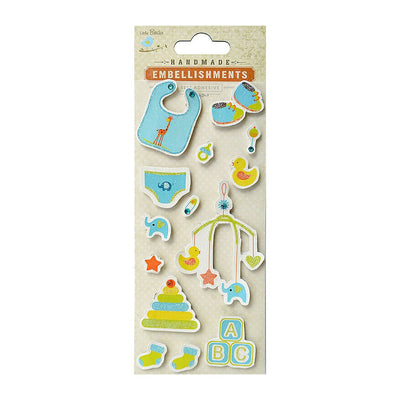 Self adhesive Stickers - Just Born, 14pcs