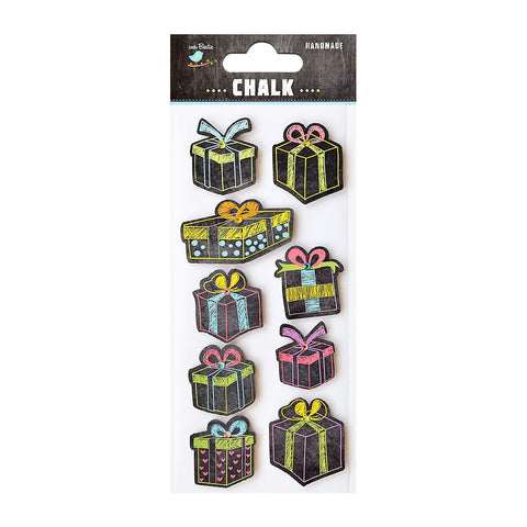 Chalk Embellishments- Gifts 9pcs