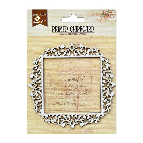 Square Frame 1pc Chipboard