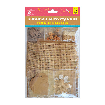 Bonanza Activity Pack - Fun  with Naturals, 30Pc