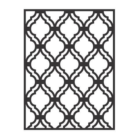 Stencil - Lattice, 8.5 x 24.5cm, 1pc  Little Birdie