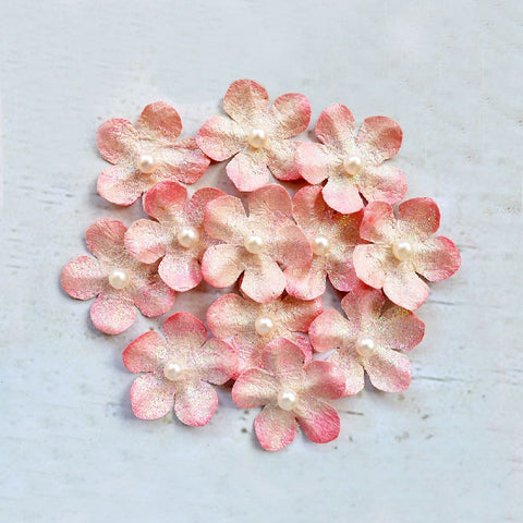 Handmade Flower Alyssa-  Carnation, 12pcs