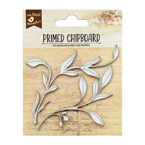 Chipboard Vine 2Pc Little Birdie
