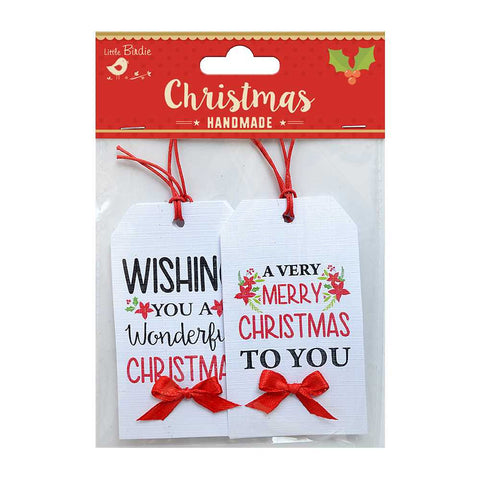 Christmas Decorative Tags - 4pcs