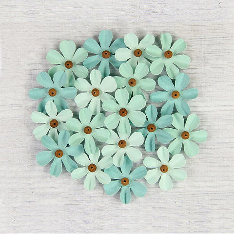 Handmade Flower Beaded Fancies-  Celeste 18pcs