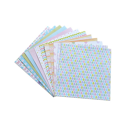 Blossom And Sunshine - Pattern Paper Pack, 12designs, 12 sheets, 12x12inch Little Birdie