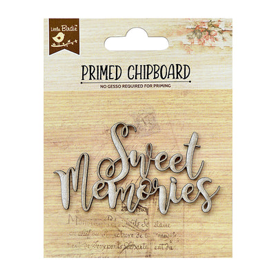 Chipboard Sweet Memories 1Pc Little Birdie
