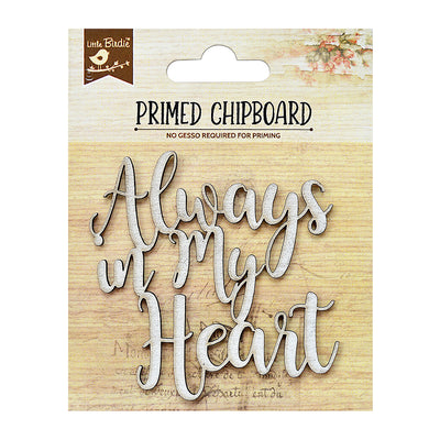 Chipboard In My Heart 1Pc Little Birdie