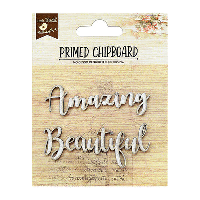 Chipboard Amazing Beautiful 2Pc Little Birdie