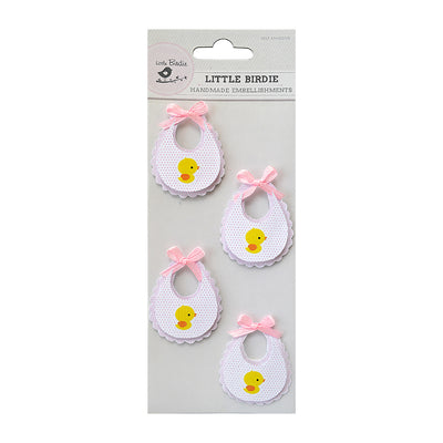 Bib Pink 4Pc Little Birdie