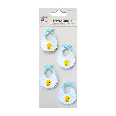 Bib Blue 4Pc Little Birdie