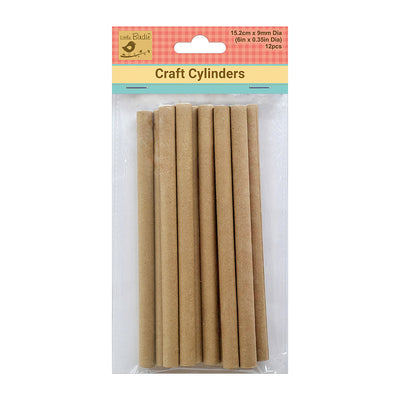 Craft  Cylinders - 152mm x 9mm, 12Pc