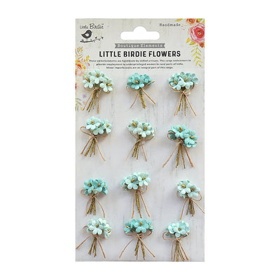 Bouquet Arctic Ice 12Pc Little Birdie