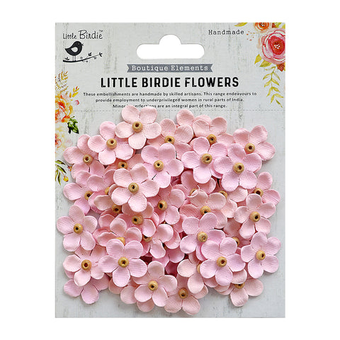 Beaded Blooms Pearl Pink 50Pc Little Birdie