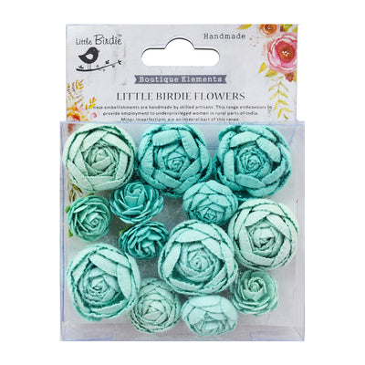 English Roses Arctic Ice 13Pc Little Birdie