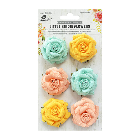 Carly Pastel Palette 6Pc Little Birdie