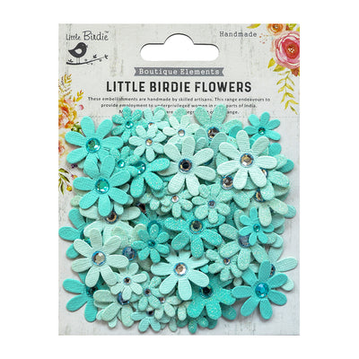 Sparkle Florettes Arctic Ice 80Pc Little Birdie