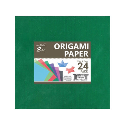 Origami Paper - 7x 7in, Assorted Colours, 24 sheets Little Birdie
