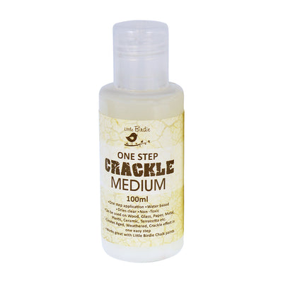 One Step Crackle Medium, 100ml