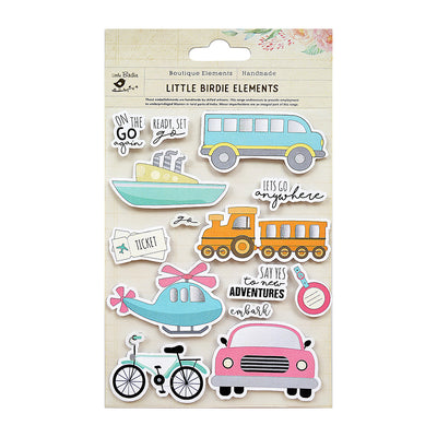 Adventure Sticker Embellishment 14Pc