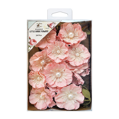 Handmade Flowers Margery- Carnation, 24pcs