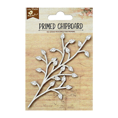 Chipboard Spring Leaf 1pc Little Birdie