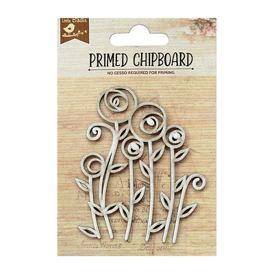 Chipboard Primrose 1pc Little Birdie