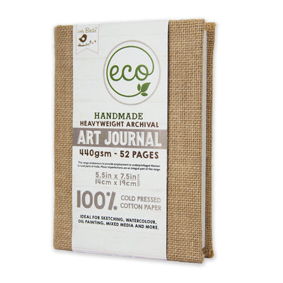 Art Journal 440gsm - 52 pages, 5.5X7.5inch