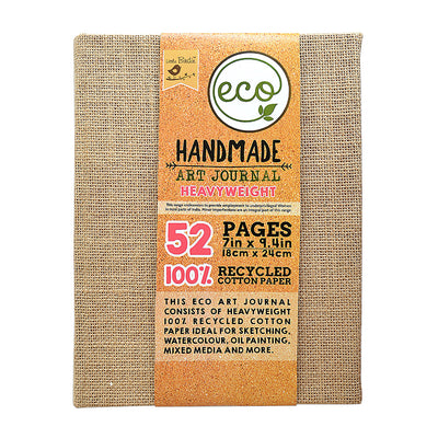 Handmade Art Journal - 7x9.4in, 440gsm, 100 pages