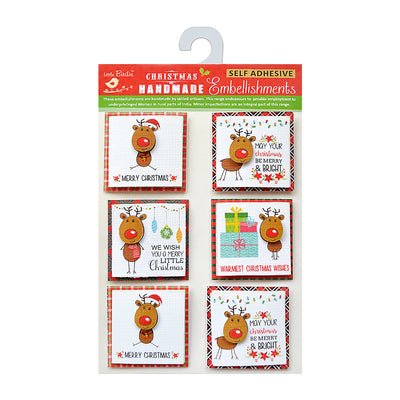 Reindeer Wishes - Toppers, 6Pc