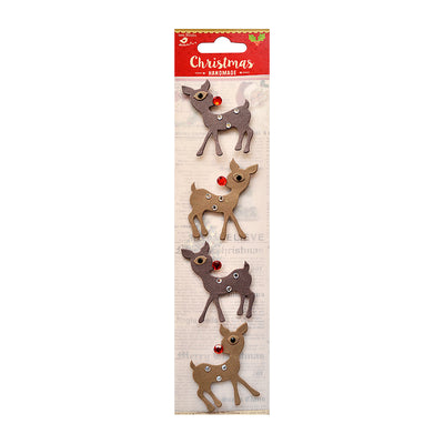 Christmas Reindeer - 4pc