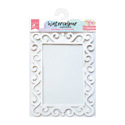 Water Colour Paper Frame - Filigree 6in x 8in Image Size 4in x 6in 1pc
