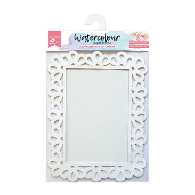 Water Colour Paper Frame - Droplet 6in x 8in Image Size 4in x 6in 1pc