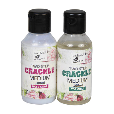 Two Step Crackle Medium 100ml Little Birdie