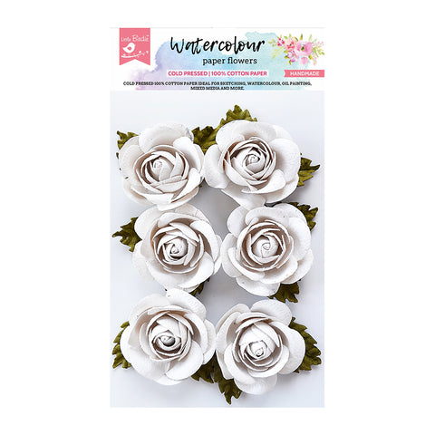 Water Colour Sharon Flower 6Pc