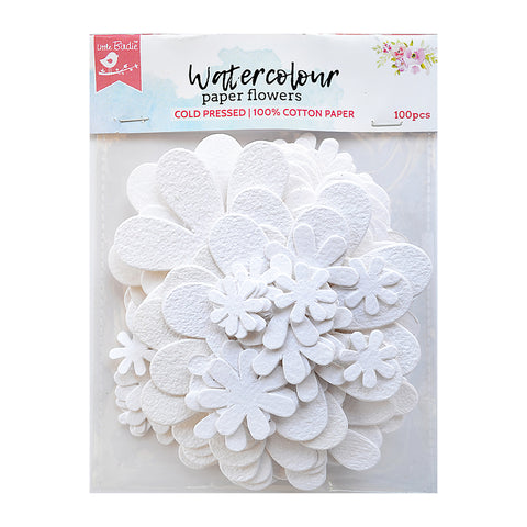 Blooms White 100Pc