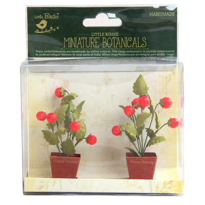 Miniature Botanical Cherry Tomato 2pcs