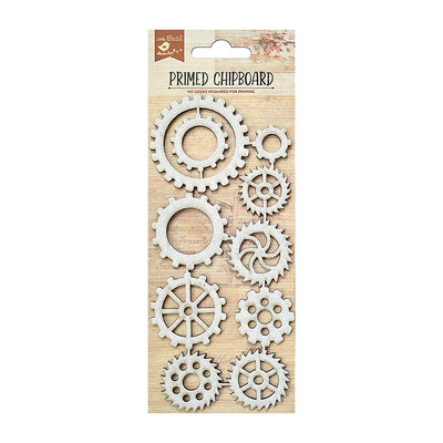 Chipboard Especially Cogs 1pc Little Birdie