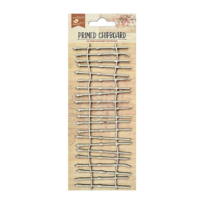 Chipboard Whimsy Fence 1pc Little Birdie