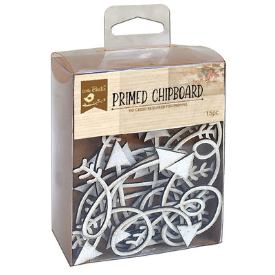Curly-Wurly Arrows Chipboard 15pc