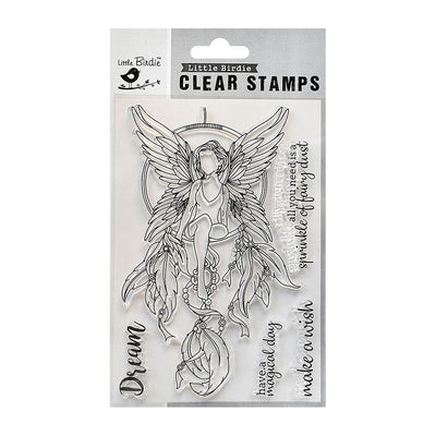 Clear Stamps -  Fairy Dust 4.5x6.5 5pc
