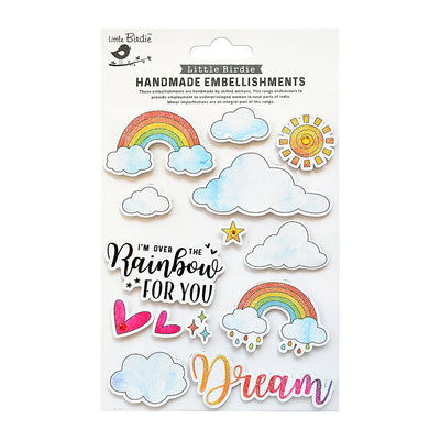 Sticker - Rainbow Dream 14pc Little Birdie