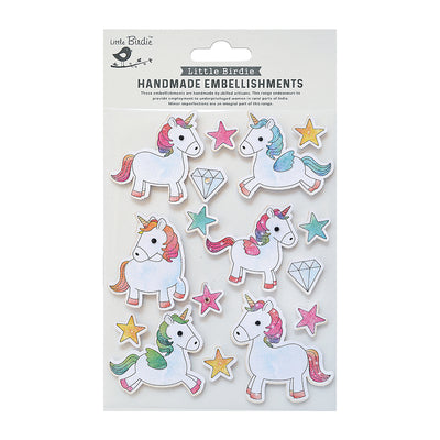 Sticker - Unicorn 16pc Little Birdie