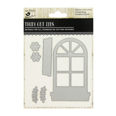 Thin Cut Die- Roman Window, 6pcs