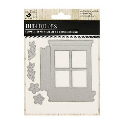Thin Cut Die- Victorian Window,5pcs